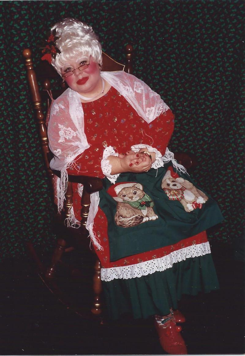 Susi Wolf as Mrs. Claus in New Mexico
