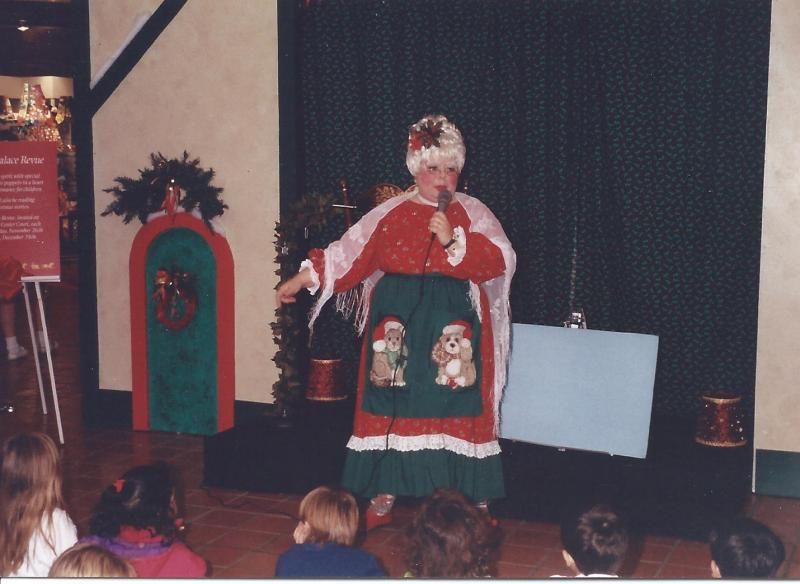 Mrs. Claus and Susi Wolf Storytelling