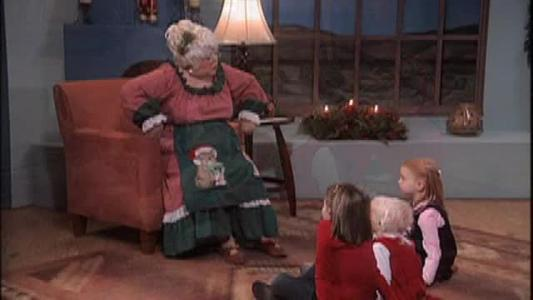 Mrs. Claus - Susi Wolf - telling stories to children