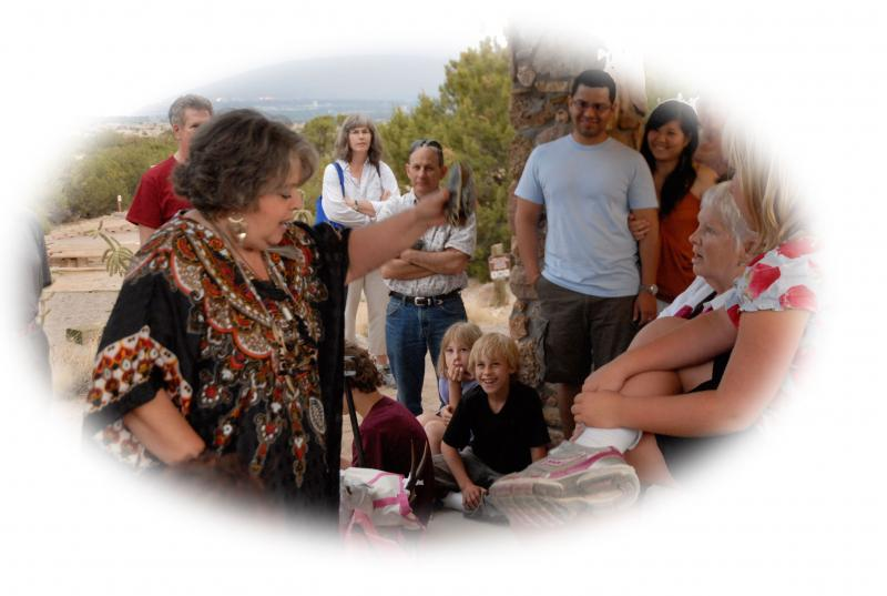 Susi Wolf the New Mexico Storyteller