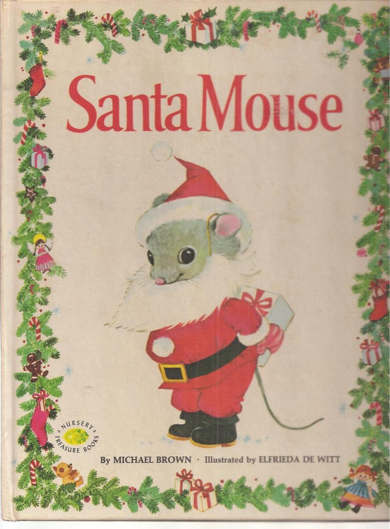 Santa Mouse - Mrs. Claus - Susi Wolf